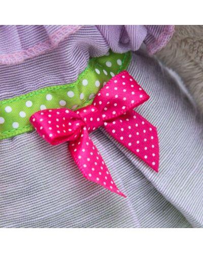 Плюшена играчка Budi Basa - Зайка Ми, с пролетна рокличка, 25 cm - 5