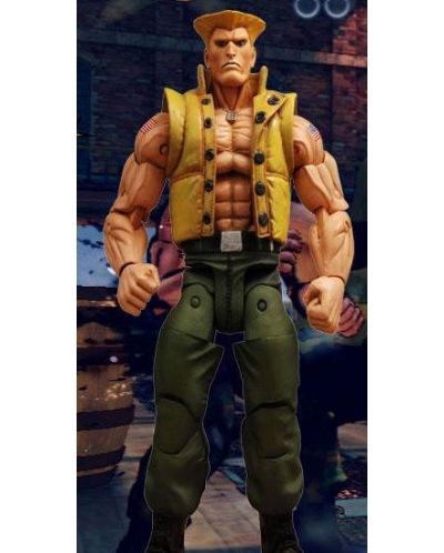 Street Fighter Action Figure Guile in Charlie Costume SDCC Exclusive 18 cm - 1