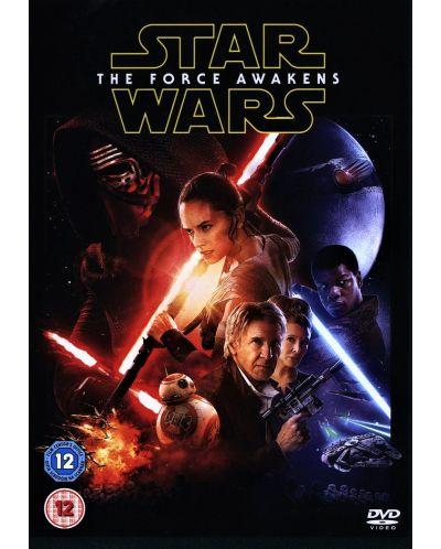 Star Wars: Episode VII - The Force Awakens (DVD) - 1