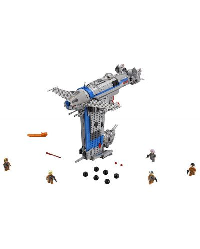 Конструктор Lego, Star Wars - Бомбардировач на Съпротивата (75188) - 8