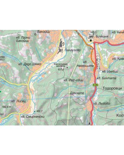 Stenna Topografska Karta 1 20 000 Ozone Bg