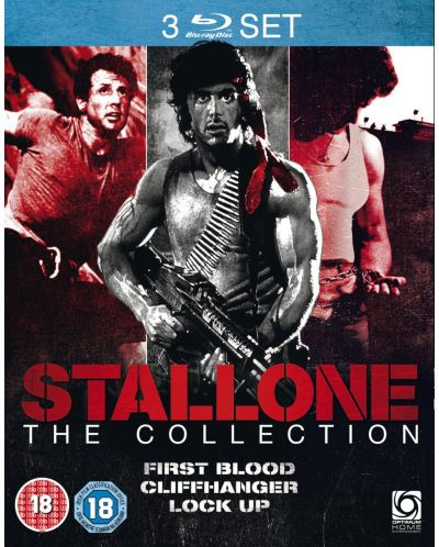 Stallone Collection (First Blood/Cliffhanger/Lock Up) (Blu-ray) - 2
