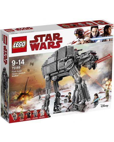 Конструктор Lego Star Wars - Heavy Assault Walker на Първата заповед (75189) - 1