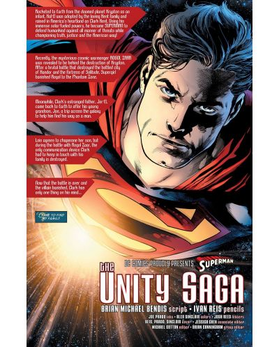 Superman, Vol. 1: The Unity Saga: Phantom Earth-1 - 4