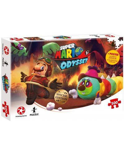 Пъзел от 500 части - Super Mario Odyssey Forgotten Isle - 1