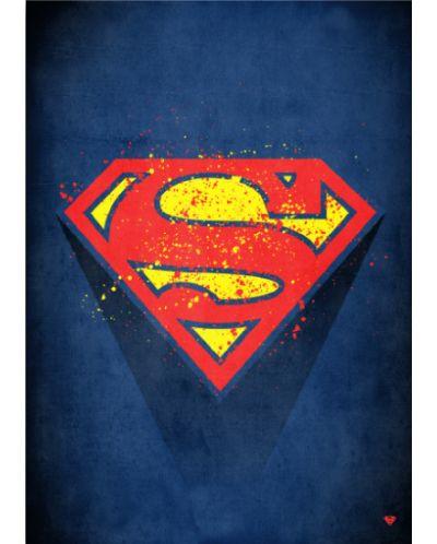Метален постер Displate - Superman logo - 1