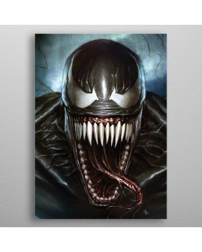 Метален постер Displate - Venom: Superhero - 3
