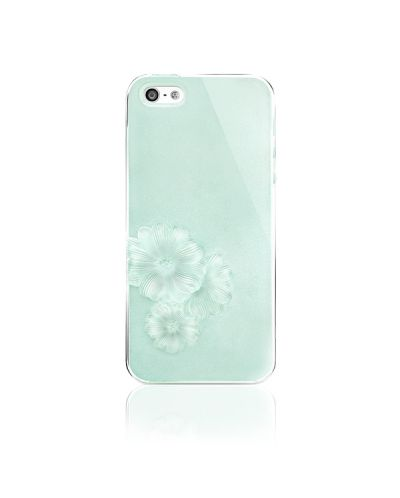 SwitchEasy Dahlia Sparkling Mint за iPhone 5 - 5