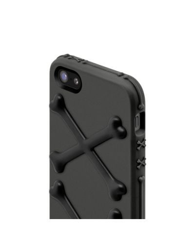 SwitchEasy Bones Venom Black за iPhone 5 - 4