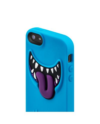 SwitchEasy Monsters Wicky за iPhone 5 -   син - 4