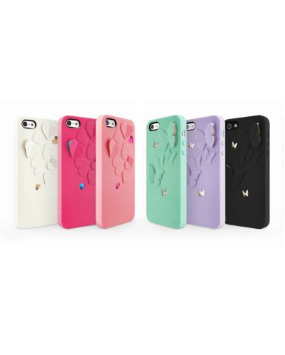 SwitchEasy Kirigami Lavender Wings за iPhone 5 -  лилав - 6