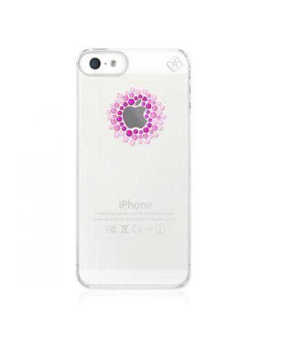 Swarovski Shadow Pink Mix за iPhone 5 - 1