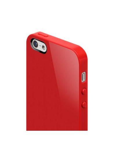 SwitchEasy Nude за iPhone 5 -  червен - 4