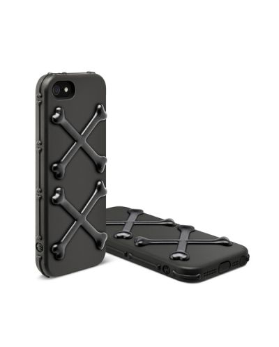 SwitchEasy Bones Venom Black за iPhone 5 - 7