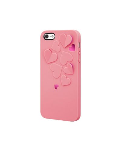SwitchEasy Kirigami Sweet Love за iPhone 5 -  светлорозов - 1