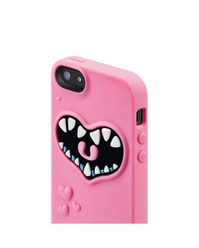 SwitchEasy Monsters Pinky за iPhone 5 -  розов - 4