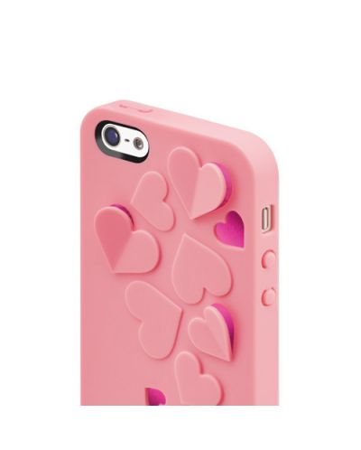SwitchEasy Kirigami Sweet Love за iPhone 5 -  светлорозов - 4