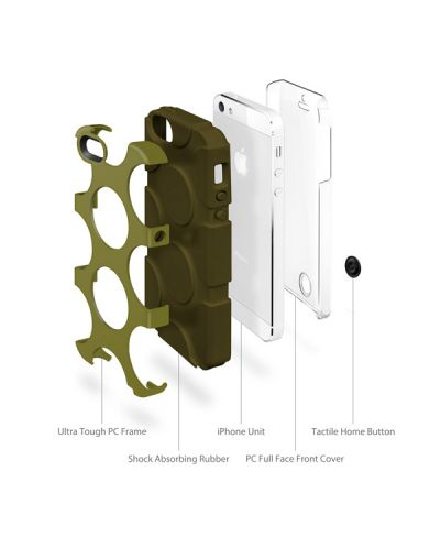 SwitchEasy FreeRunner за iPhone 5 -  черен - 6