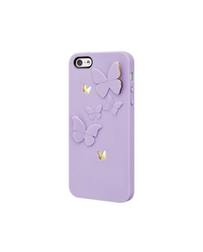 SwitchEasy Kirigami Lavender Wings за iPhone 5 -  лилав - 1