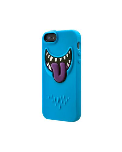 SwitchEasy Monsters Wicky за iPhone 5 -   син - 1