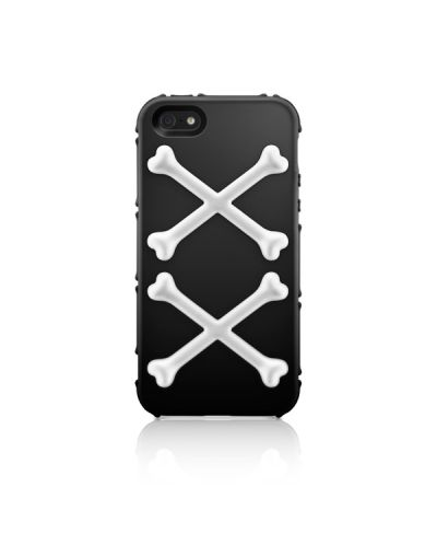 SwitchEasy Bones Toxic Lime за iPhone 5 - 5
