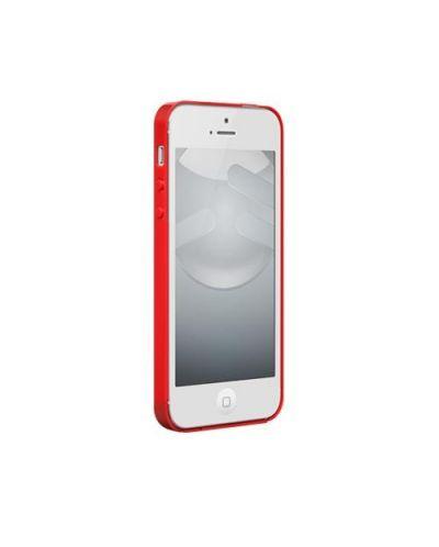 SwitchEasy Nude за iPhone 5 -  червен - 2