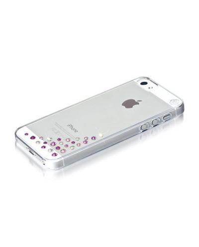 Swarovski Diffusion Pink Mix за iPhone 5 - 2