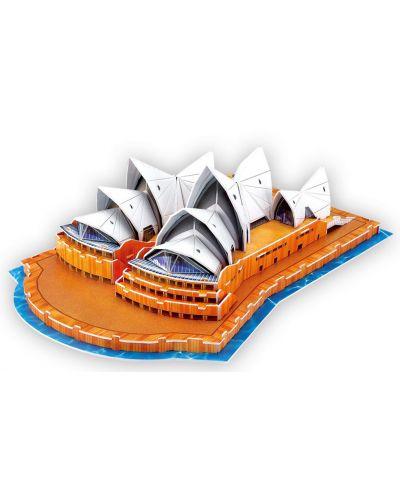 3D Пъзел Cubic Fun от 58 части - Sydney Opera House - 1