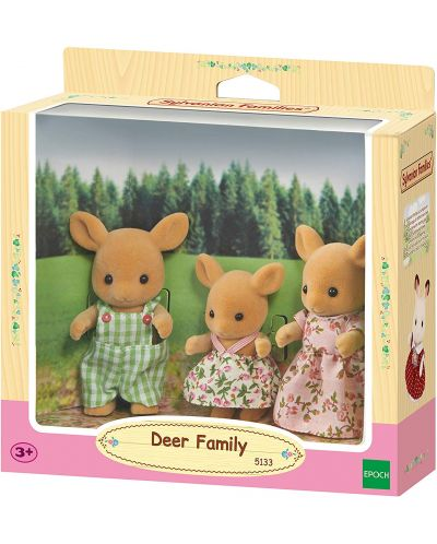 Комплект фигурки Sylvanian Families - Семейство еленчета - 1