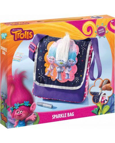 Творчески комплект Totum Trolls - Декорирай сам бляскава чанта - 1