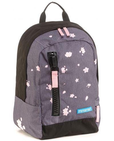 Ученическа раница Mitama Tag - Flower + подарък - 1