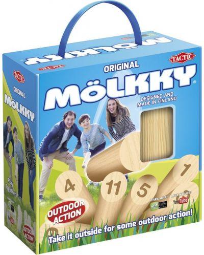 Парти игра Tactic - Molkky, скандинавски кегли, за игра на открито - 1