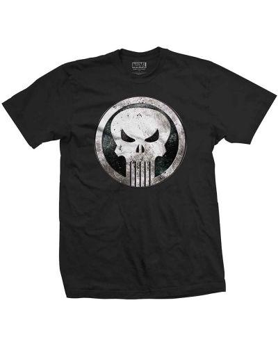 Тениска Rock Off Marvel Comics - Punisher Metal Badge - 1