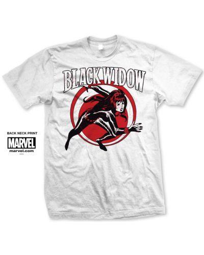Тениска Rock Off Marvel Comics - Black Widow Simple - 1