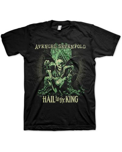 Тениска Rock Off Avenged Sevenfold - Hail to the King En Vie - 1