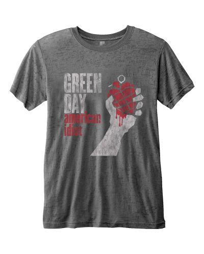 Тениска Rock Off Green Day Fashion - American Idiot Vintage - 1