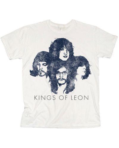 Тениска Rock Off Kings of Leon - Silhouette - 1