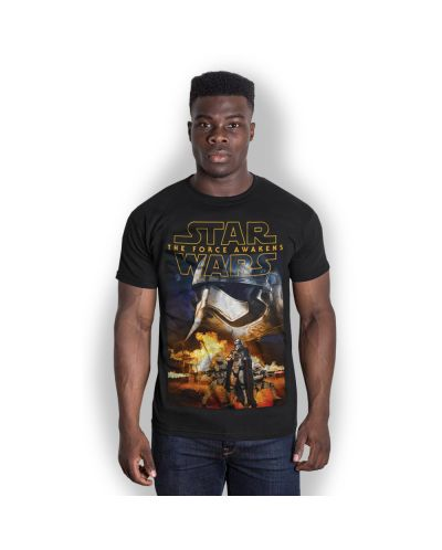 Тениска Rock Off Star Wars - Episode VII Phasma & Troopers - 1