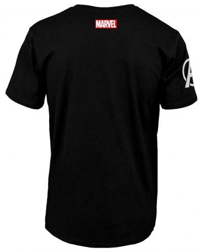 Тениска Avengers Infinity War - Logo, черна - 2