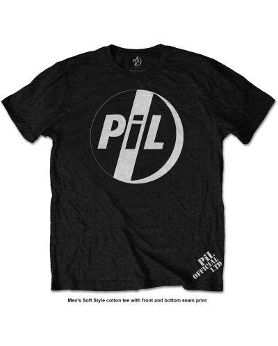 Тениска Rock Off Pil Public Image Ltd - White Logo - 1