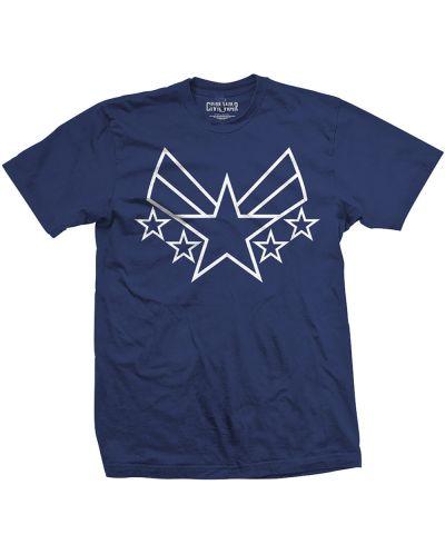 Тениска Rock Off Marvel Comics - Captain America Civil War Cap Insignia - 1