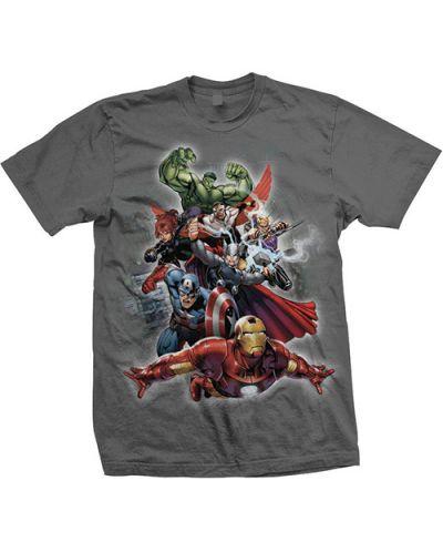 Тениска Rock Off Marvel Comics - Big Group - 1