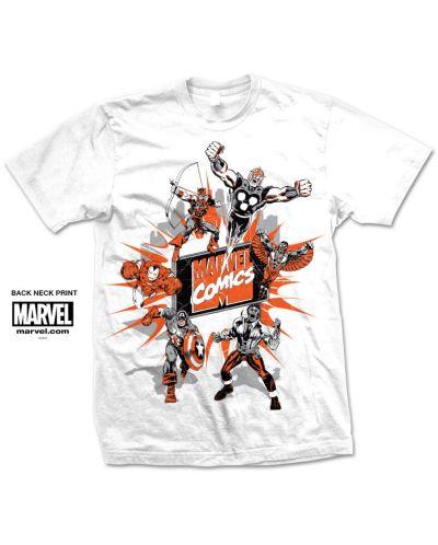 Тениска Rock Off Marvel Comics - Marvel Montage 2. - 1