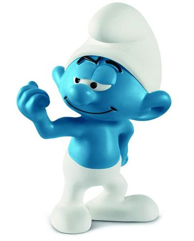 Фигурка Schleich The Smurfs - Смърф Здравеняк - 1