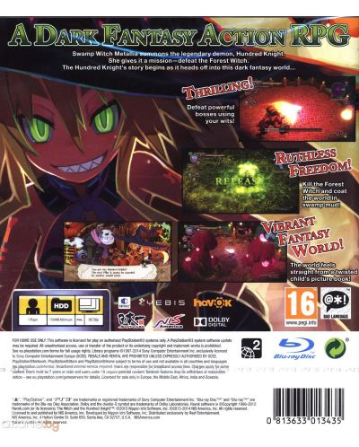 The Witch and the Hundred Knight (PS3) - 11