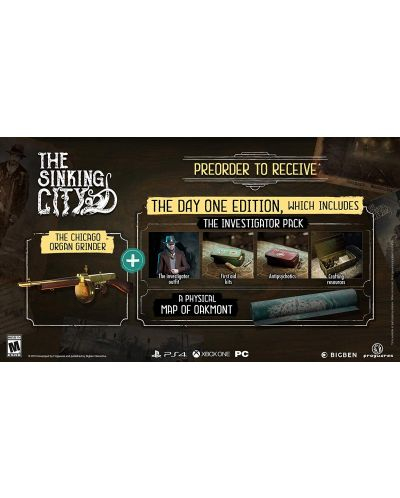 The Sinking City - Day One Edition (PC) - 5