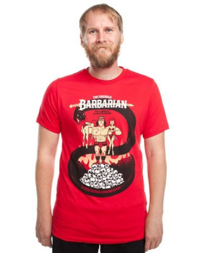Threadless The Barbarian - мъжка L - 1