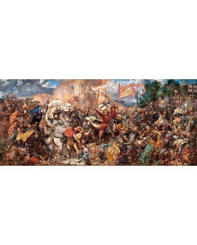 Панорамен пъзел Castorland от 600 части - Битката при Таненберг, Ян Матейко - 2