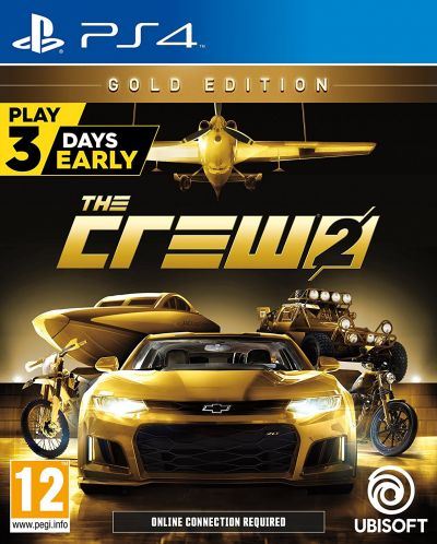 The Crew 2 Gold Edition (PS4) - 1