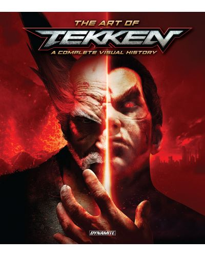 The Art of Tekken A Complete Visual History HC - 1